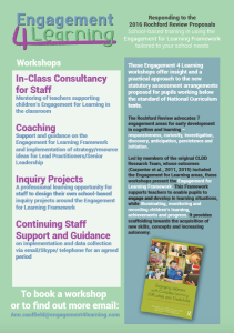 Engagement 4 Learning flyer thumbnail image