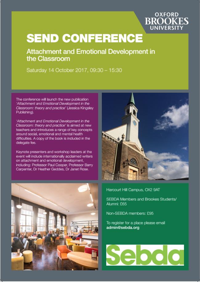 SEND Conference Flyer image