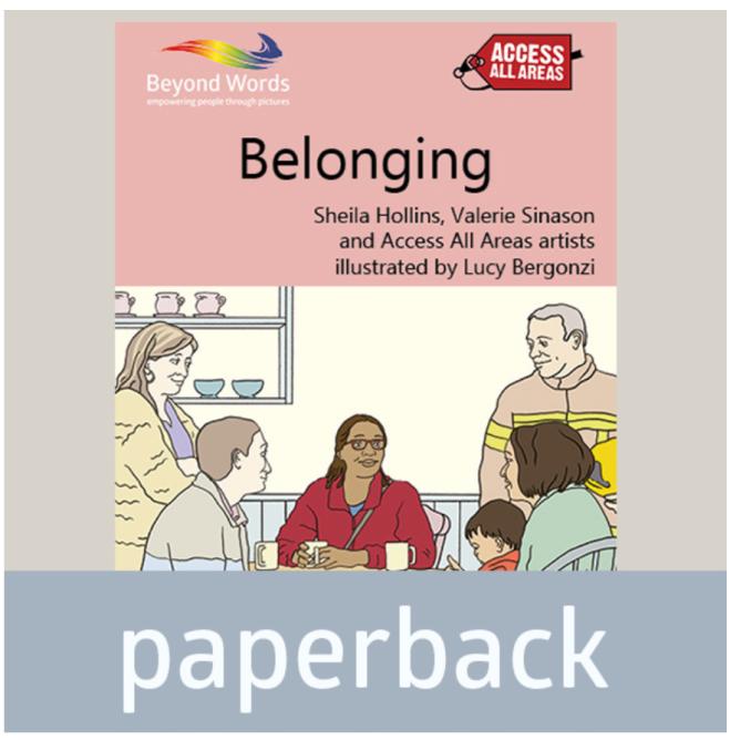 Books Beyond Words 'Belonging' Book