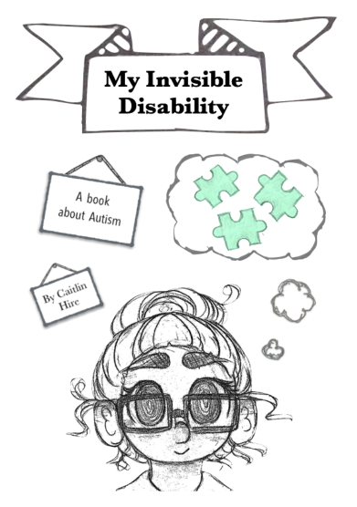 Caitlin Hire - My Invisible Disability eBook cover