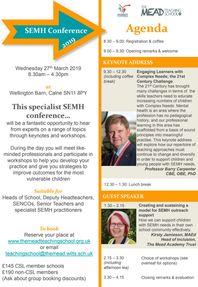 SEMH Conference Flyer