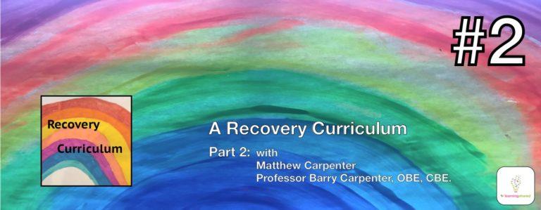 A Recovery Cirriculum - banner header