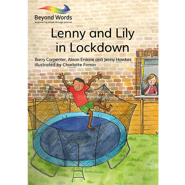 Lenny and Lily in Lockdown book cover
